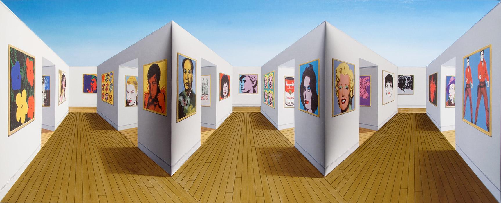 Patrick Hughes illusion