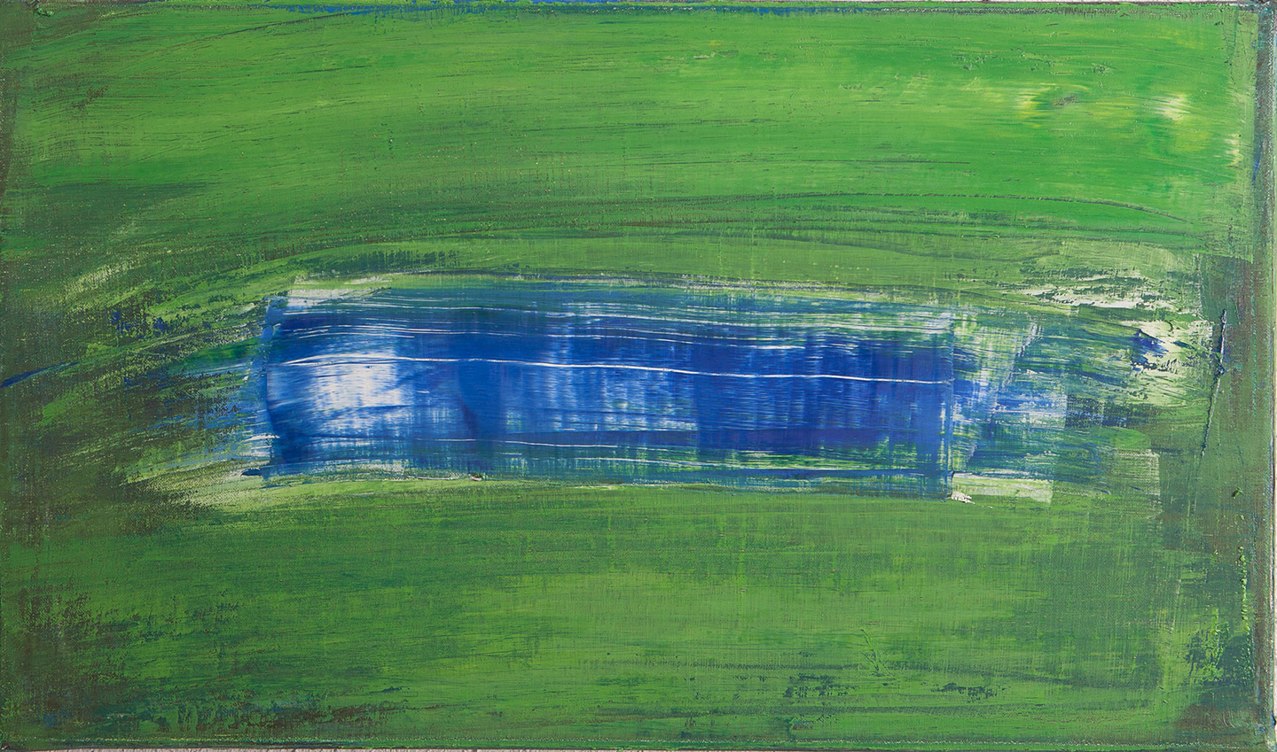 Sean McSweeney - 'Blue Pool' - 36 x 61